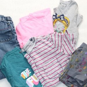 Girl's Size 4, Lot of 6